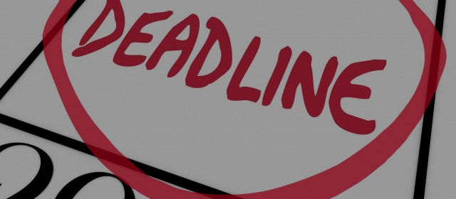 Standard Deadline is March 1